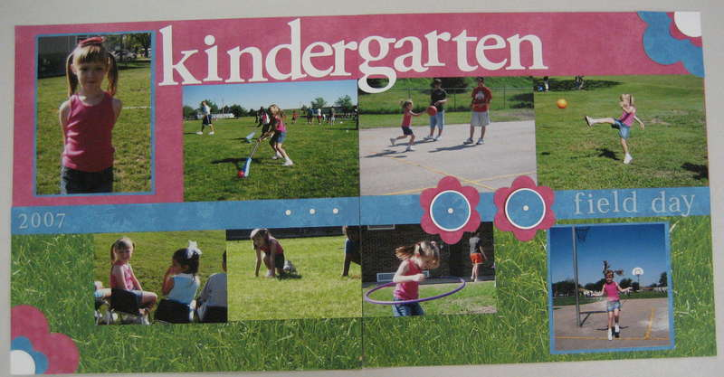 Kindergarten Field Day