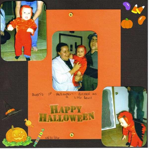 Happy Halloween Owen! (also for Grandparents book)