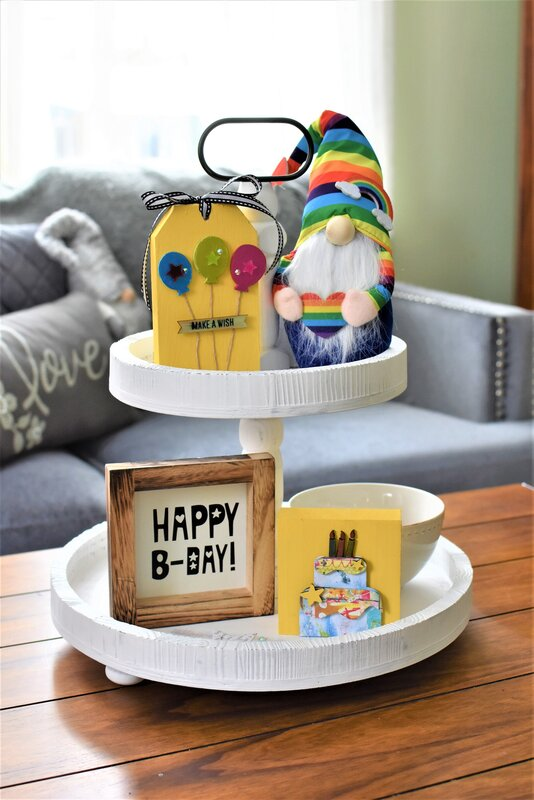 Birthday Tier Tray