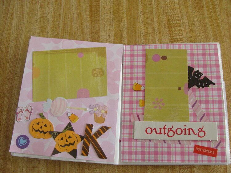 Paperbag Album- Hanna's Album 6 yrs old Pg 2 & 3