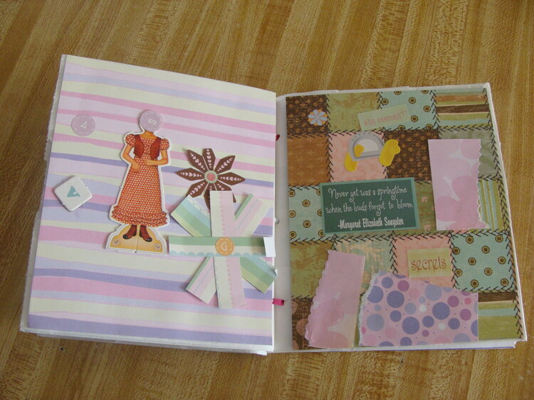 Paperbag Album - Hanna 6 yrs Old - Page 4 & 5
