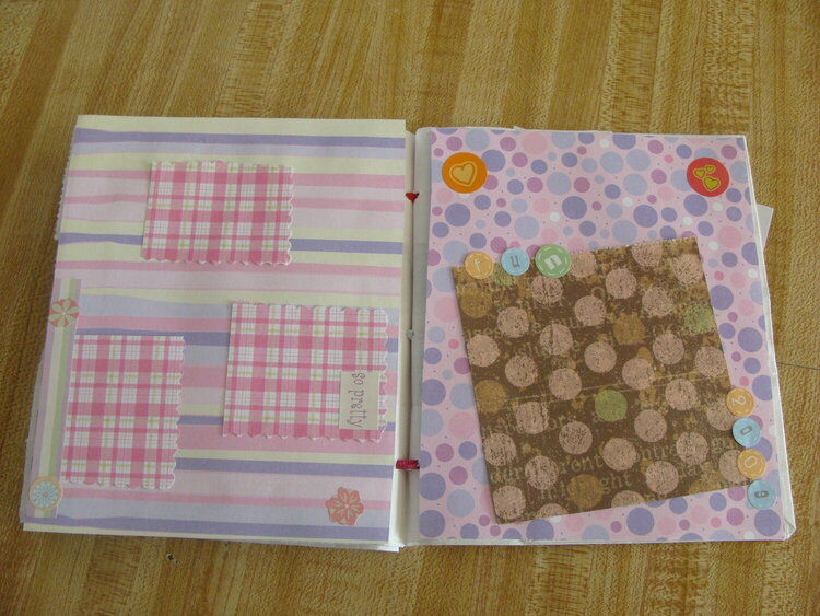 Paperbag Album - Hanna 6 yrs Old - Pg 8 & 9