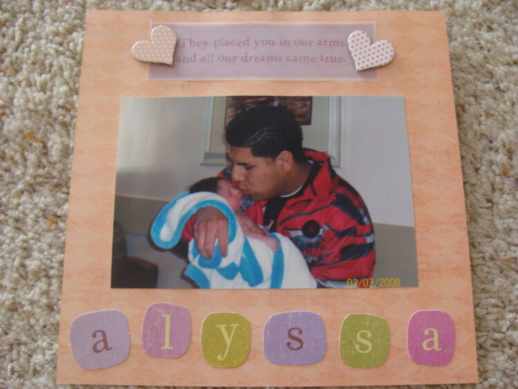 Dad Album - Alyssa
