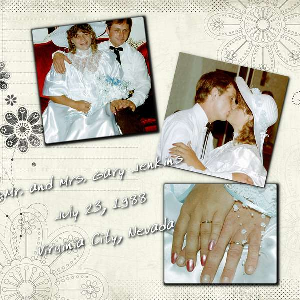 Our Wedding Day 1988