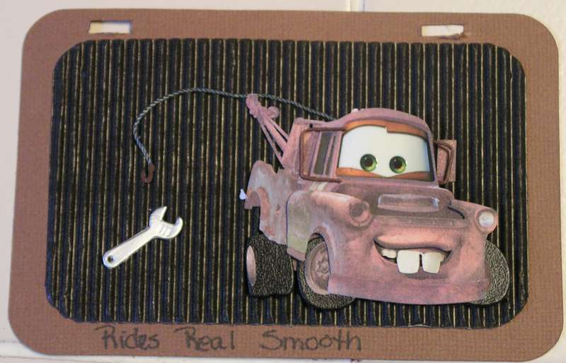 license plate tow mater