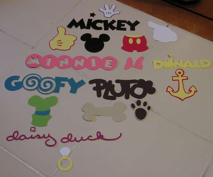disney diecuts