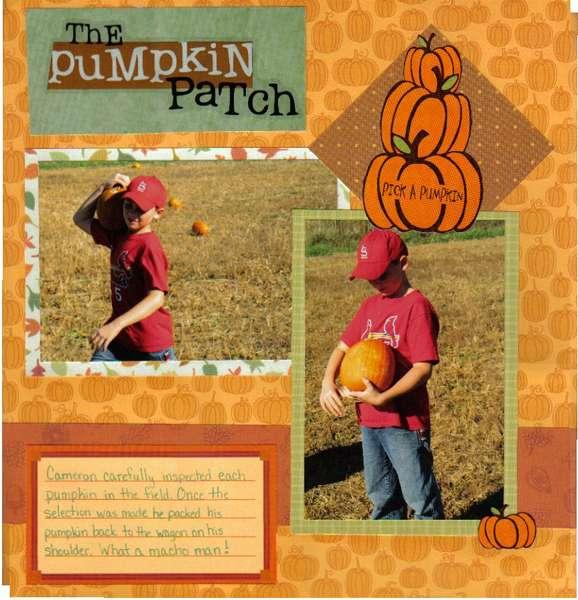 Pick a Pumpkin Cam