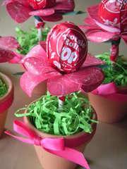 Tootsie Pop Lollipop Flower