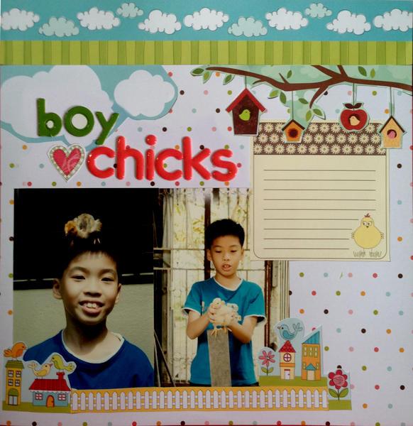 boy 'luv' chicks