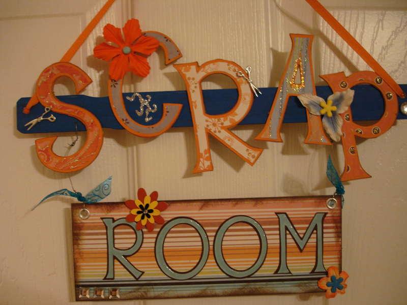 Scrap Room Sign