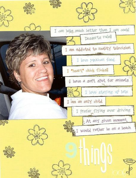 Scraplift from Sara Winnick in Aug/Sep Scrapbooks etc. mag