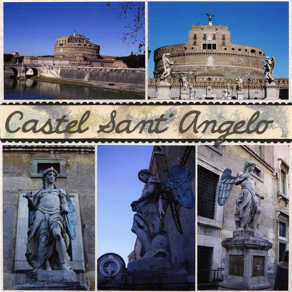 Rome - Castel Sant' Angelo