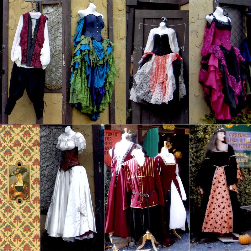 Rensaissance Faire Dresses