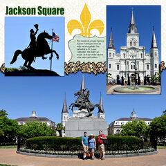 New Orleans - Jackson Square