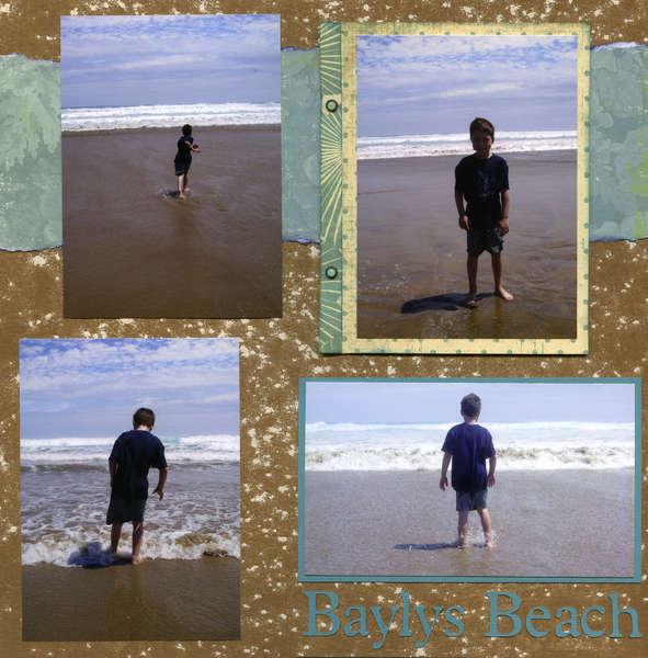 Baylys Beach New Zealand