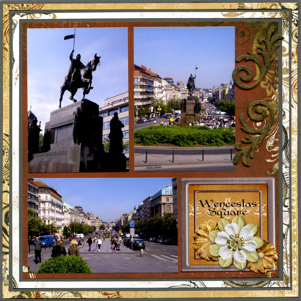 Prague - Wencelas Square