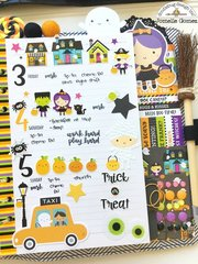 BooVille Planner Layout