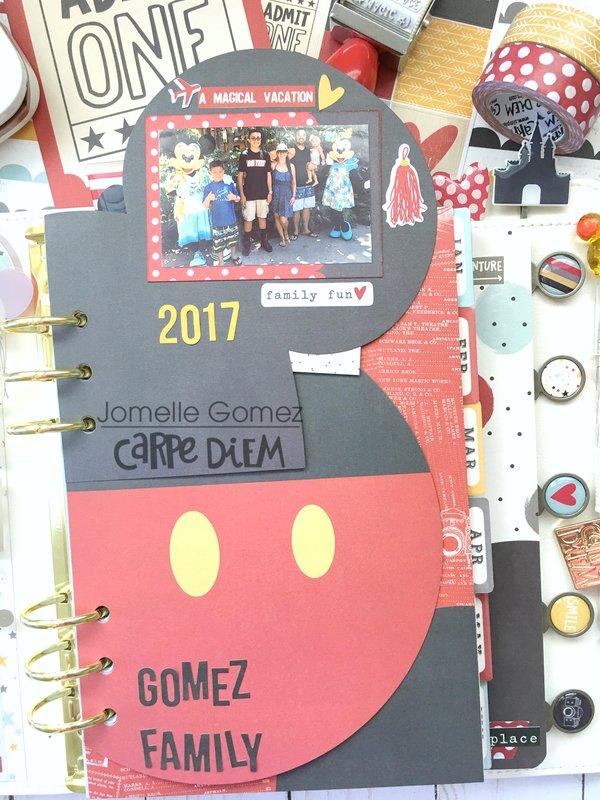 Magical Memories in my Planner