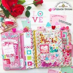 Valentine's Planner Set UP