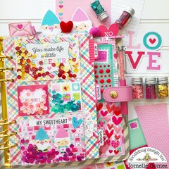 Valentine's Planner Set UP