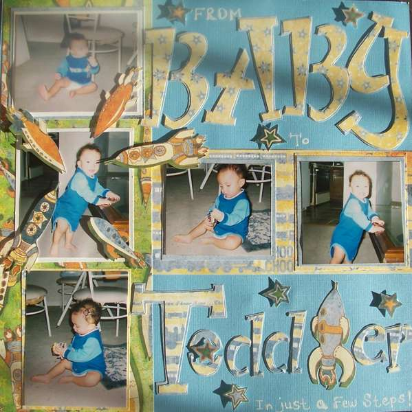 From Baby to Toddler in just a few steps!