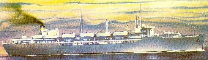 Marine Carp (drawing)