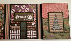 Halloween Tri-Fold Mini Album / Folio