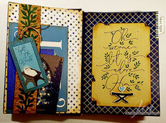 One Night In Bethlehem Altered Book