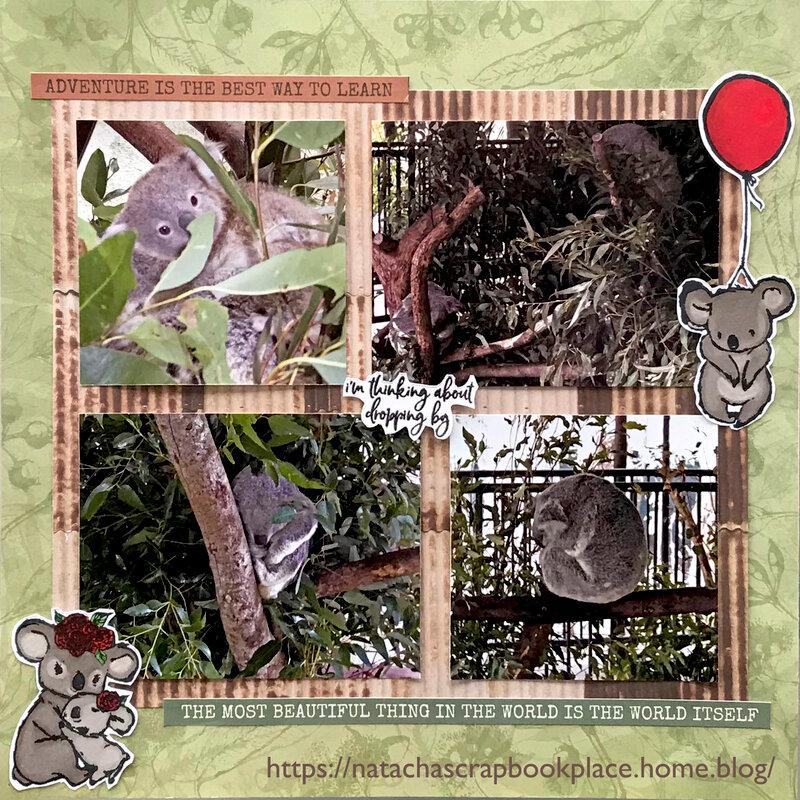 The Koalas - Open Road Collection, from Kaisercraft