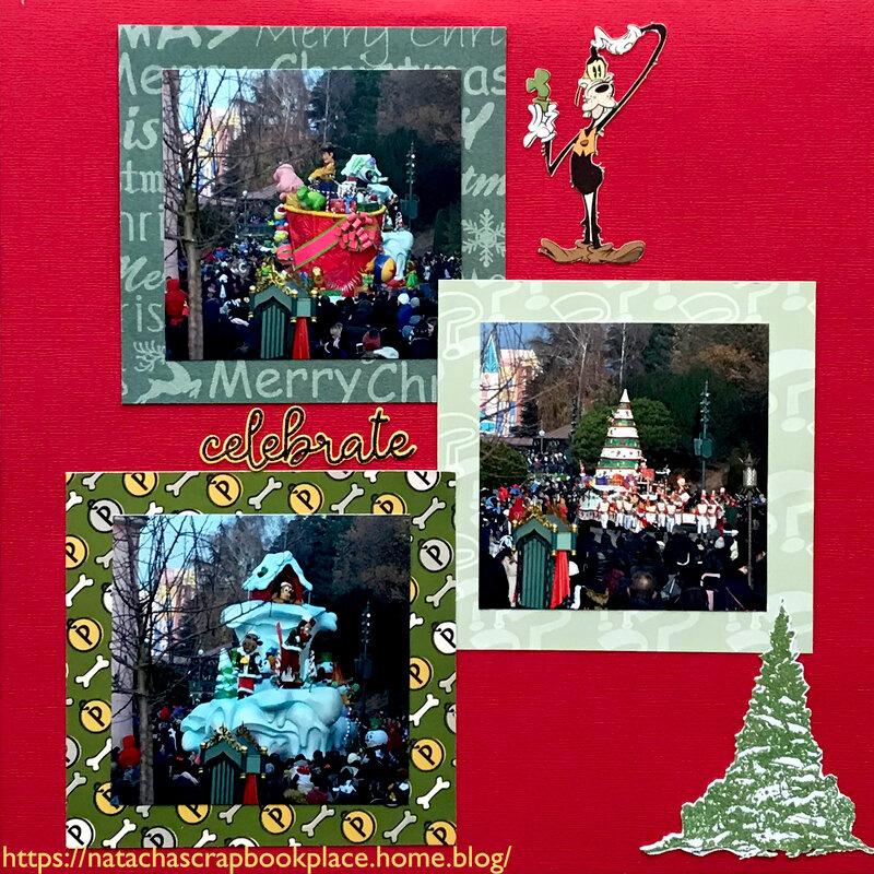 Disneyland Paris - Christmas Parade