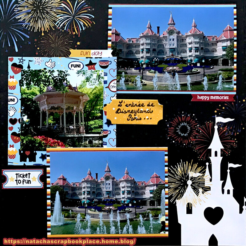 Pictures from Disneyland Paris – Disneyland Hotel – Collection « Another day at the Park » from Photoplay