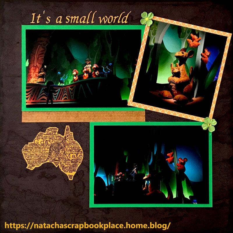 Attraction « It's a small world » – Australia part – Disneyland Paris