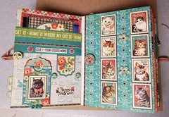 Raining Cats and Dogs album page 7 & 8