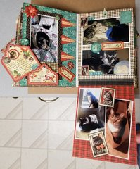 Raining Cats and Dogs mini album page 13 & 14