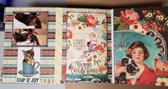 Raining Cats and Dogs mini album page 17 & 18