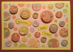 Baby Lucas card