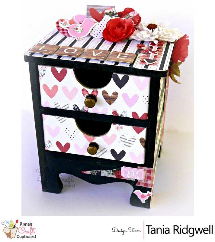 Altered Mini Dresser Drawers