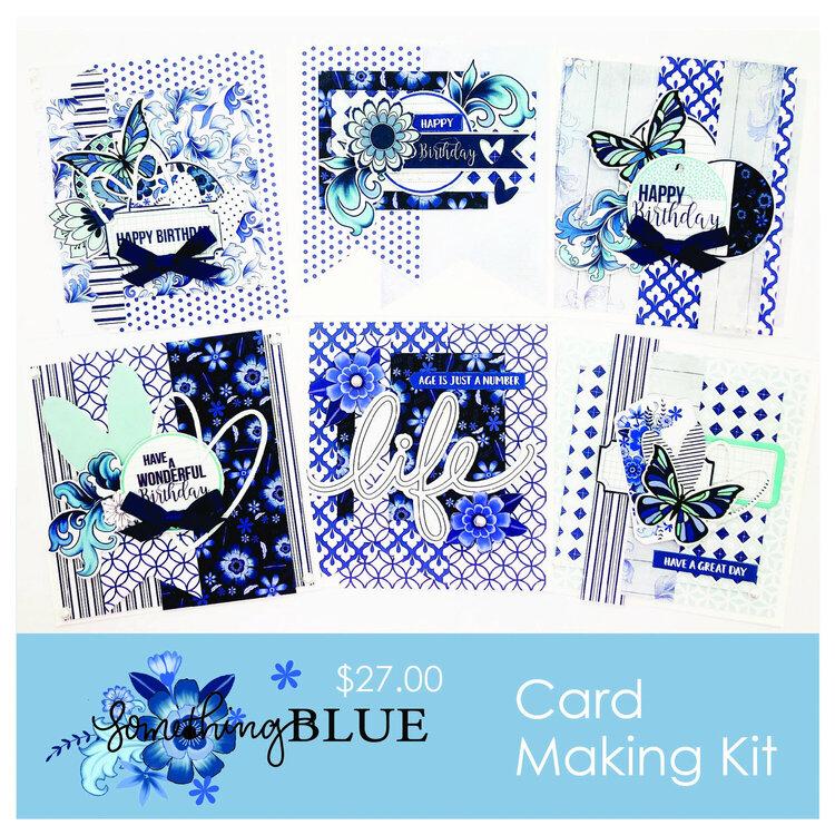 Something Blue Card Kit