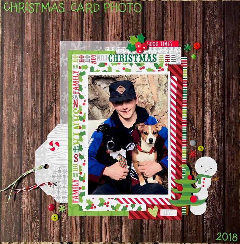 Christmas Card Photo 2018