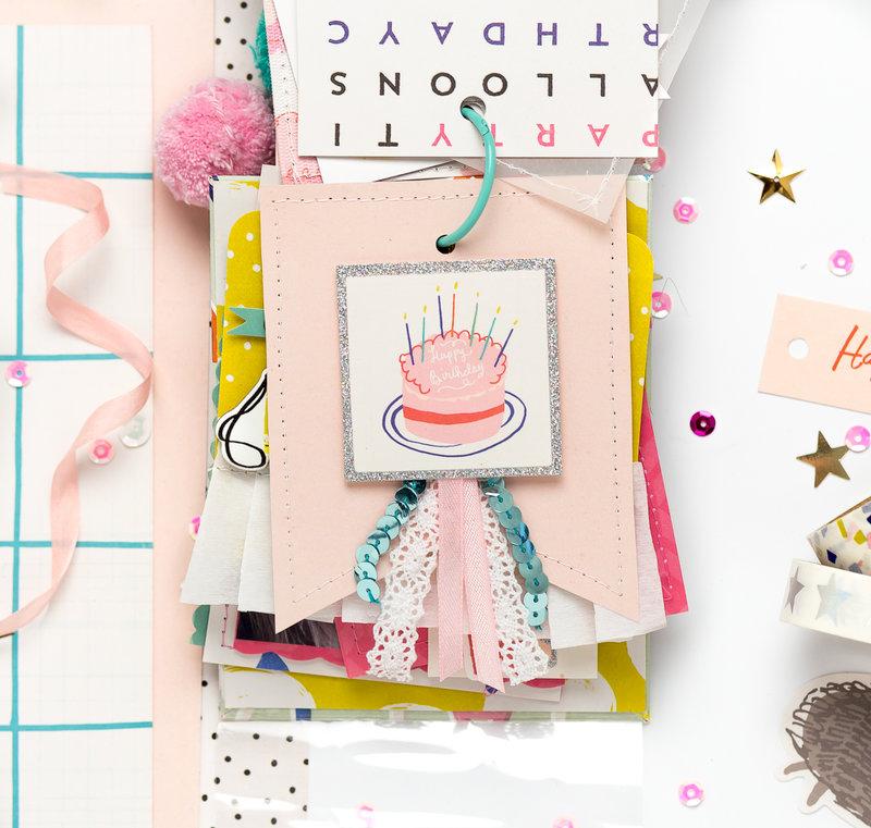 Birthday mini album