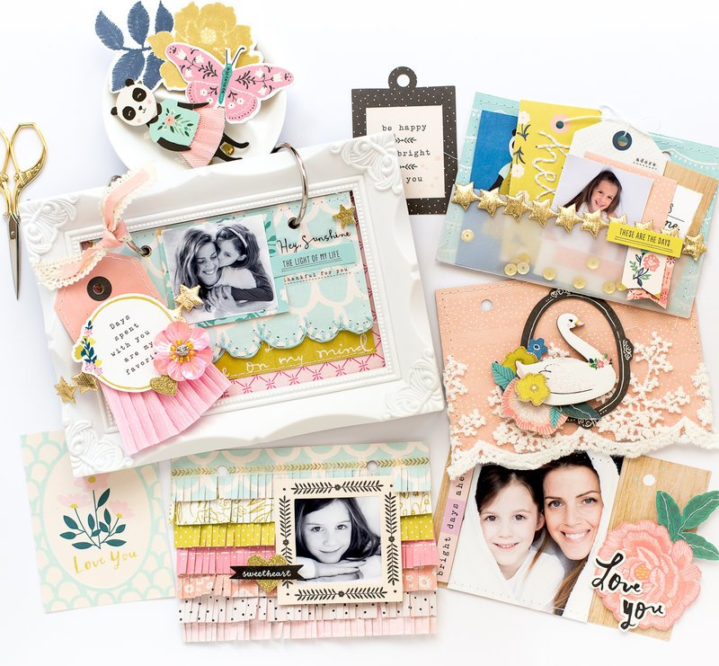 Mini album with Willow And collection