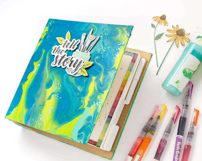 Color Pour cover