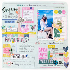 Planner Style layout