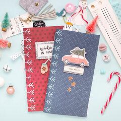 Stitched Winter Journal