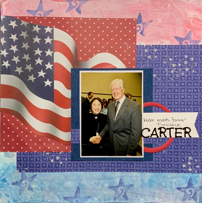 Mom and Former President Carter