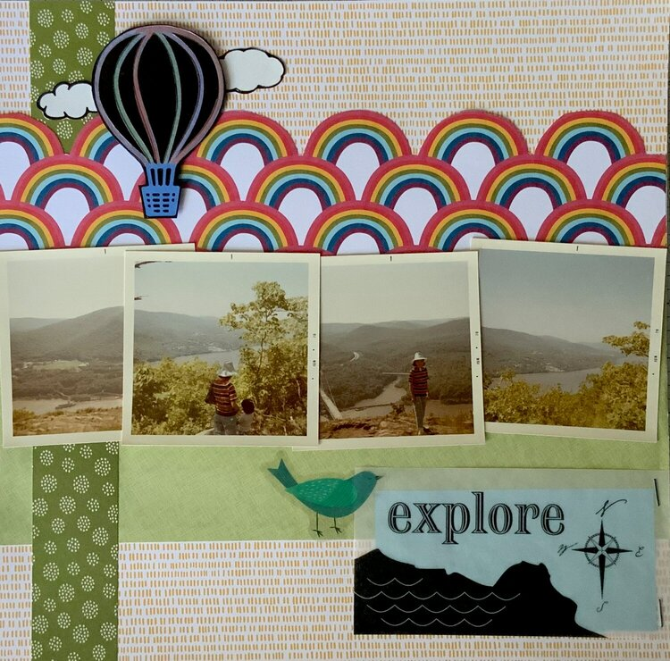 Explore - Hiking and Picnic (1970) (left)