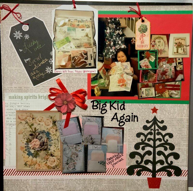 Big Kid Again - Secret Santa Haul
