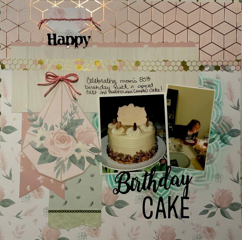 Birthday Cake - Mom's 85th birthday