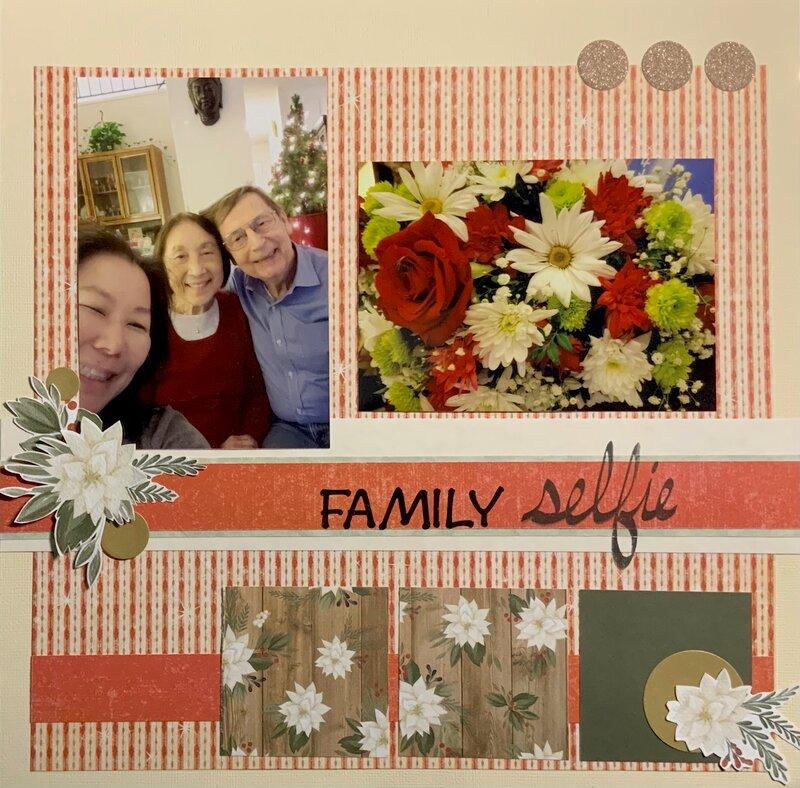 Christmas 2020 Family Selfie