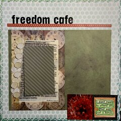 Freedom Cafe - freedom to choose